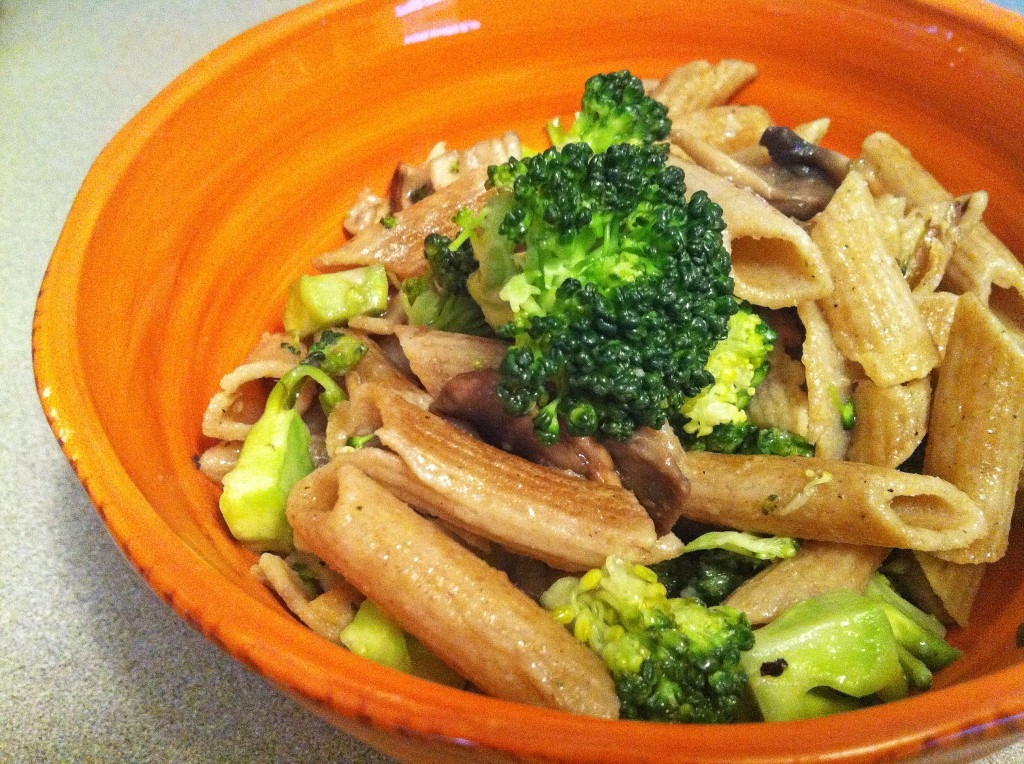 Whole Wheat Pasta with Broccoli