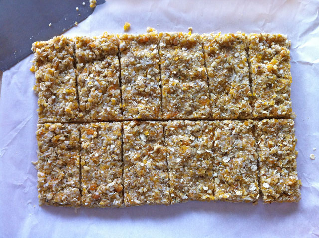 Apricot Walnut Energy Bars