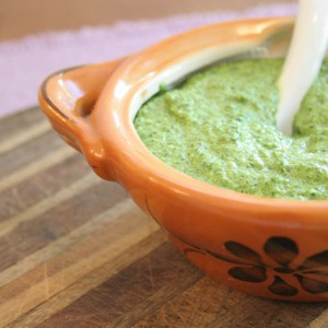 Spinach Basil Walnut Pesto in 10 Minutes!