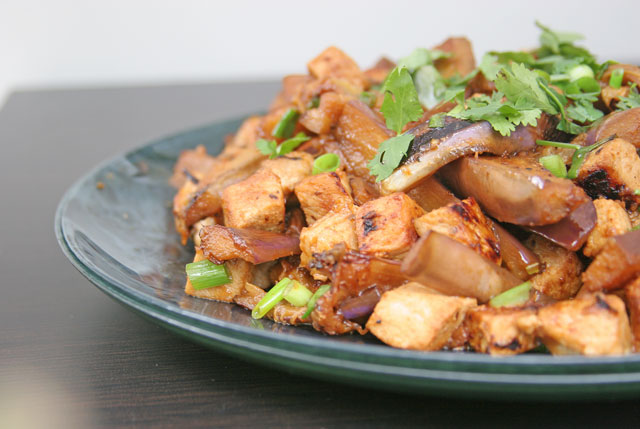 Spicy Eggplant with Pork