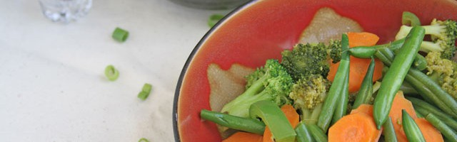 Green Bean, Broccoli, Carrot, Bell Pepper Garden Stir Fry