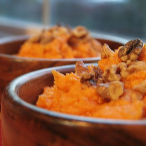 Maple Mashed Yams with Toasted Walnuts, The Ultimate Oregon Thanksgiving Recipe Roundup