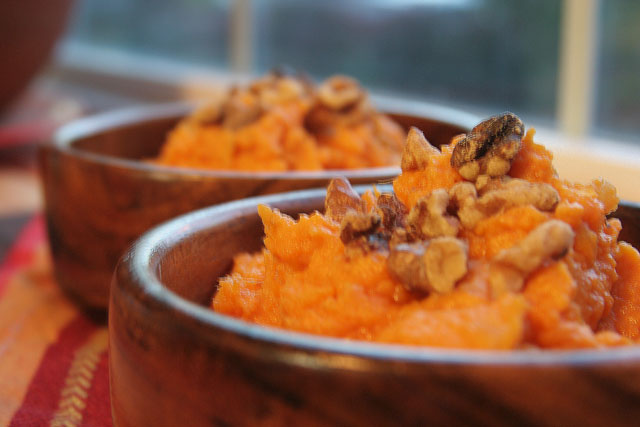Maple Mashed Yams With Toasted Walnuts The Ultimate Oregon