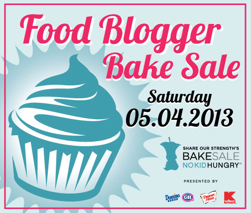 National Food Blogger Bake Sale Portland, Oregon MAY 4th @ Oregon Historical Society's Outdoor Plaza
