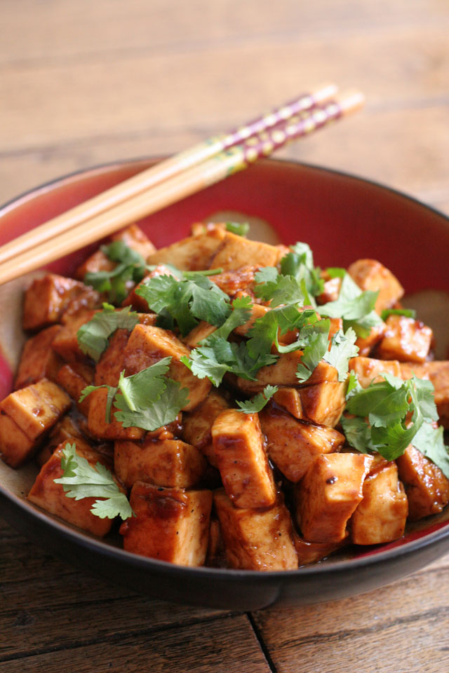 Black Bean Sauce Tofu