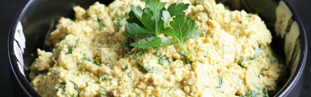 Curried Tofu Dip