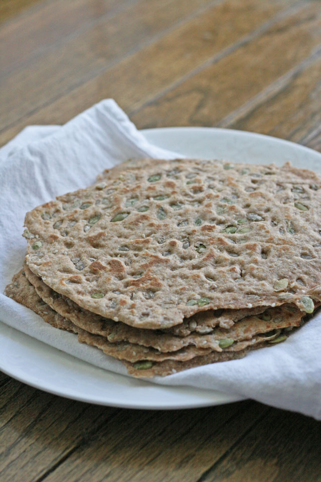 whole wheat seed tortillas