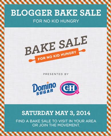 Blogger Bake Sale Portland for No Kid Hungry