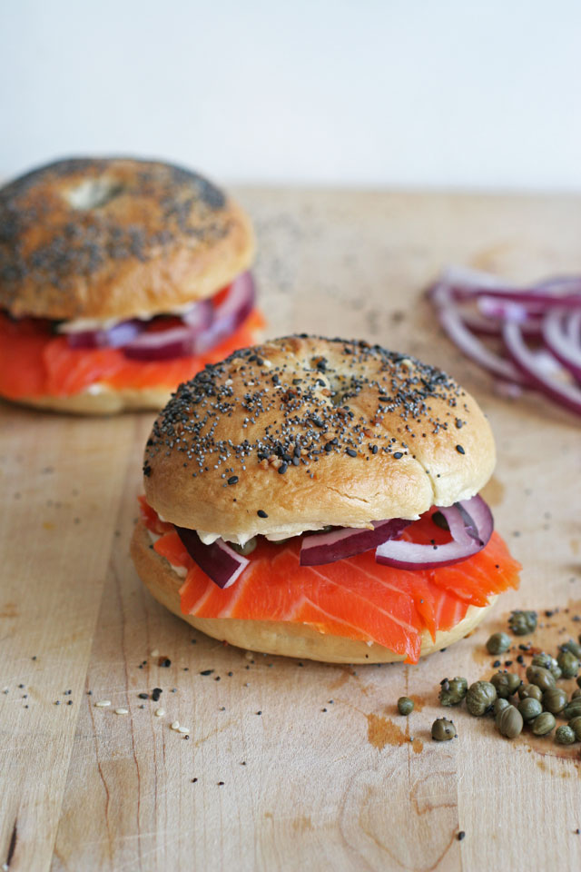 Bagel and Lox, an early obsession