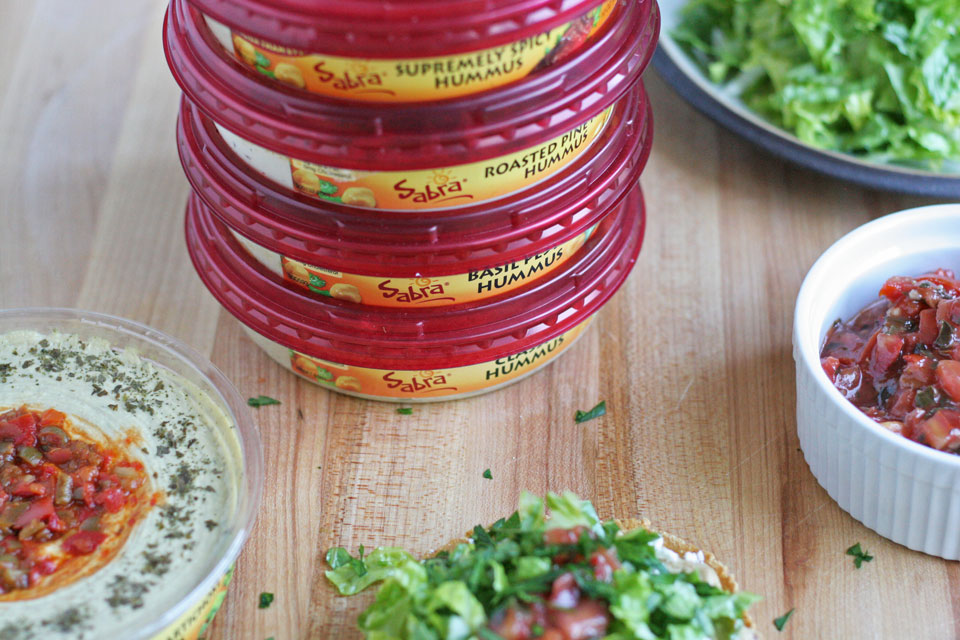 National Hummus Day with Sabra and Baked Chipotle Tostadas with Hummus