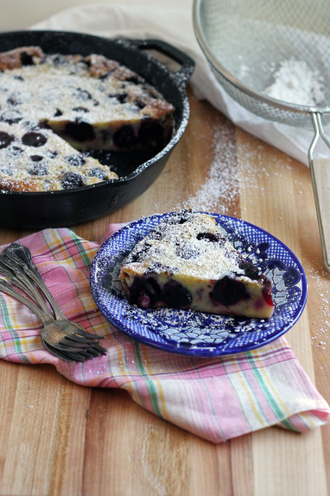 Cherry Clafoutis, it's Cherry Season