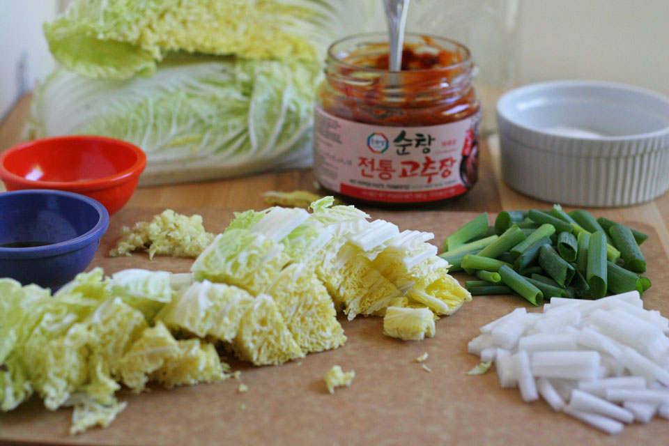 How To Cook Make Kimchi
