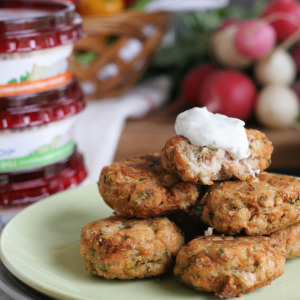Falafels with Greek Yogurt Dip
