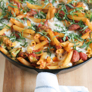 Easy, Quick, Cheesy Pasta Bake
