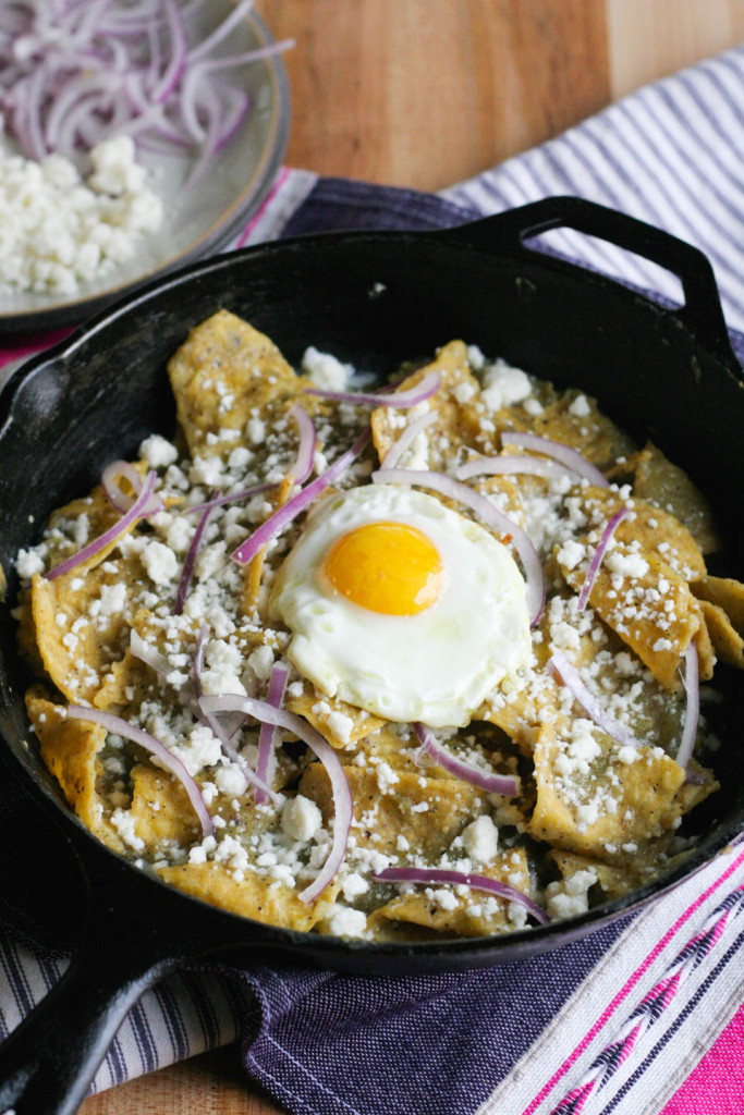Easy Chilaquiles Verde