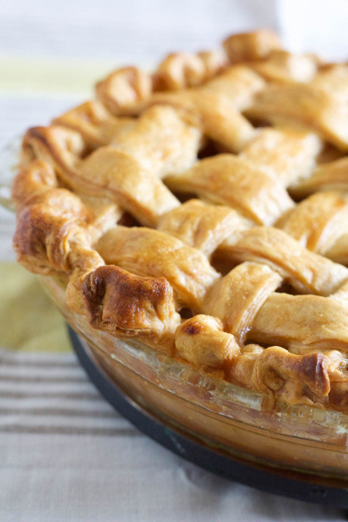 Lattice Top Apple Pie