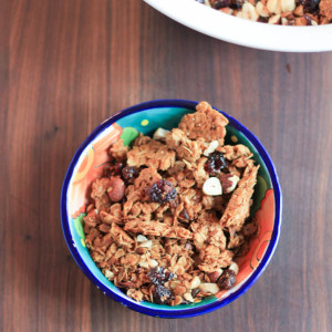 Dried Cherry Hazelnut Granola
