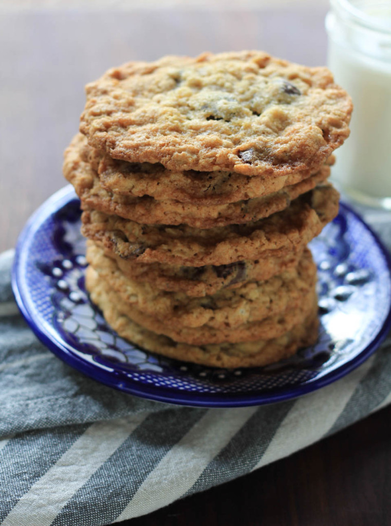 Oatmeal Hazelnut Chocolate Chip Cookies