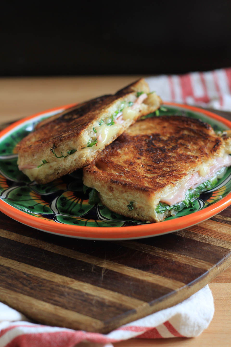 Pepper Jack Ham And Fig Grilled Cheese Cheesemis Cakes
