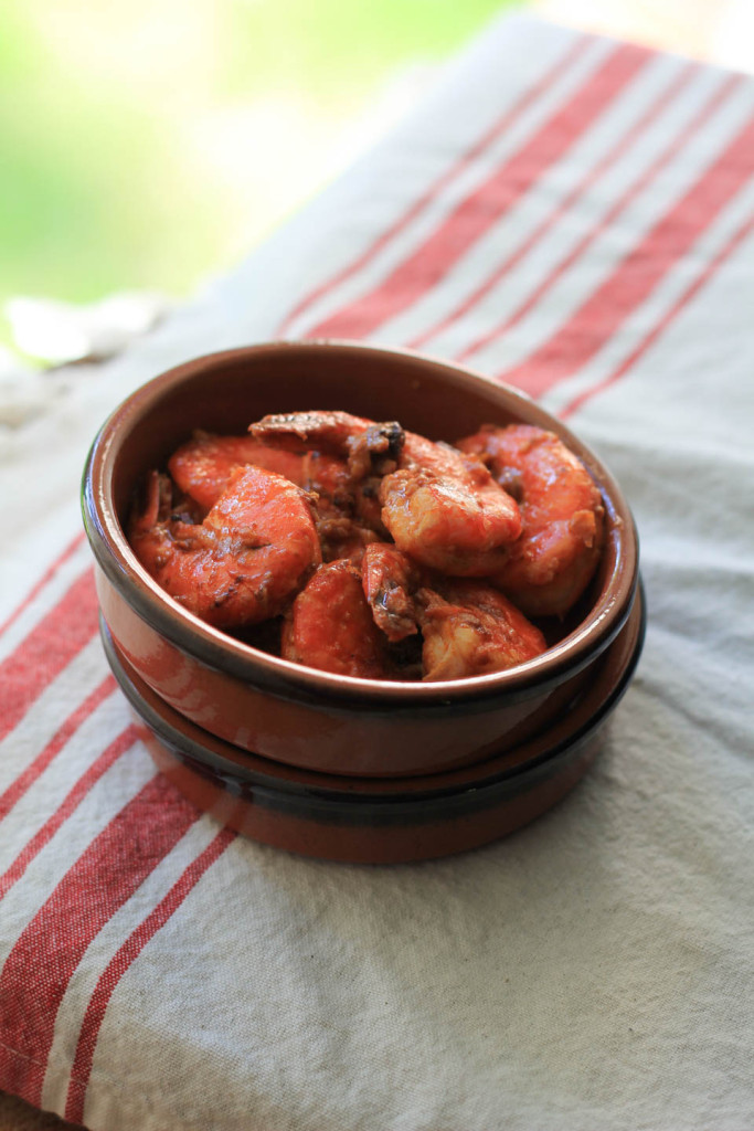 Garlicky Smoked Paprika Shrimp