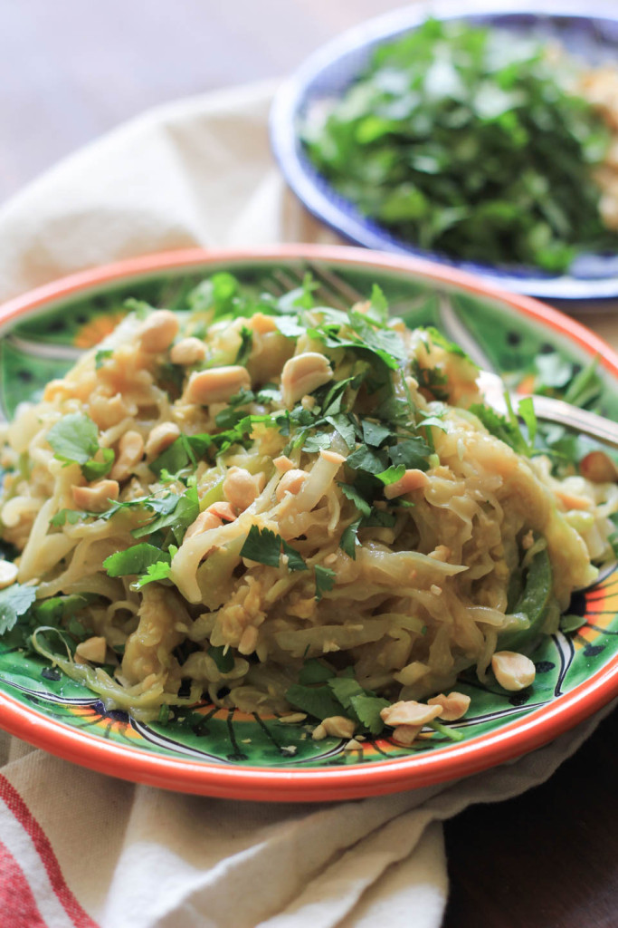 Lightened-Up Pad Thai in Under 15 Minutes