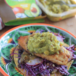 Grilled Fish Tostadas