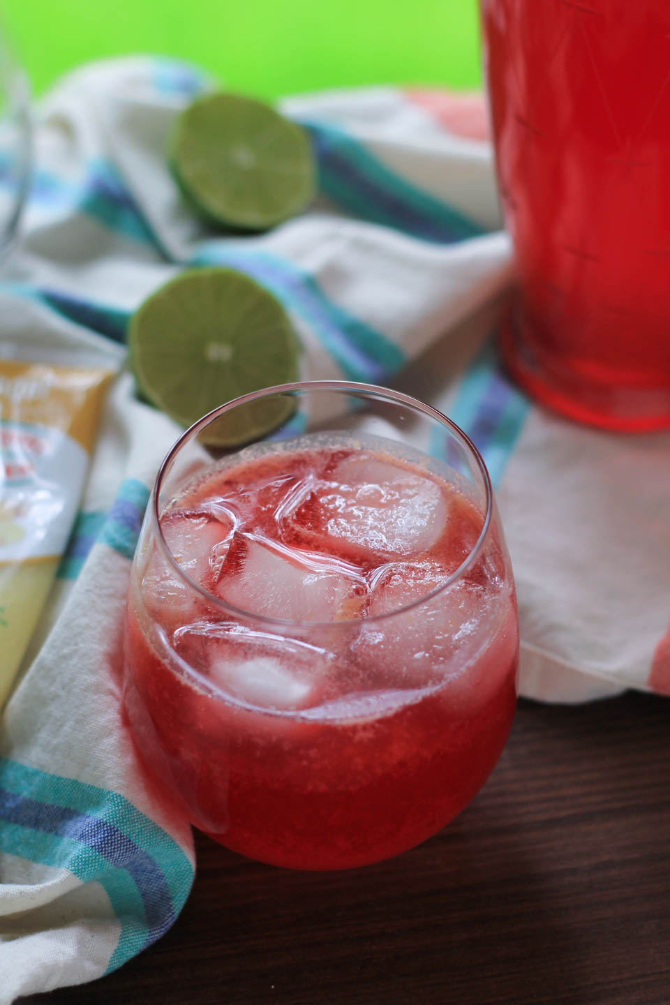 Sparkling Raspberry Ginger Limeade from NJB!