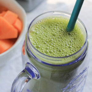 Cantaloupe Peach Smoothie