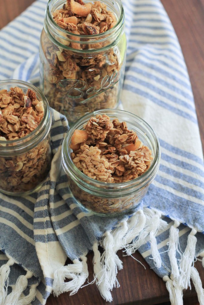Fig Apple Hazelnut Granola