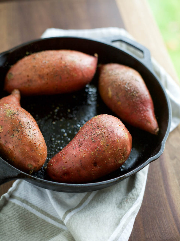 Stuffed Baked Sweet Potato