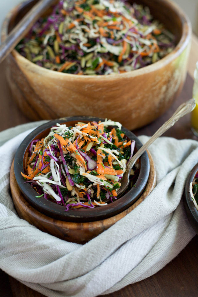 Healthy Simple Coleslaw