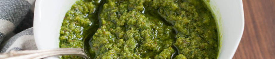 Toasted Hazelnut Pesto