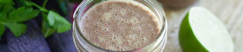 Berry Lime Parsley Smoothie