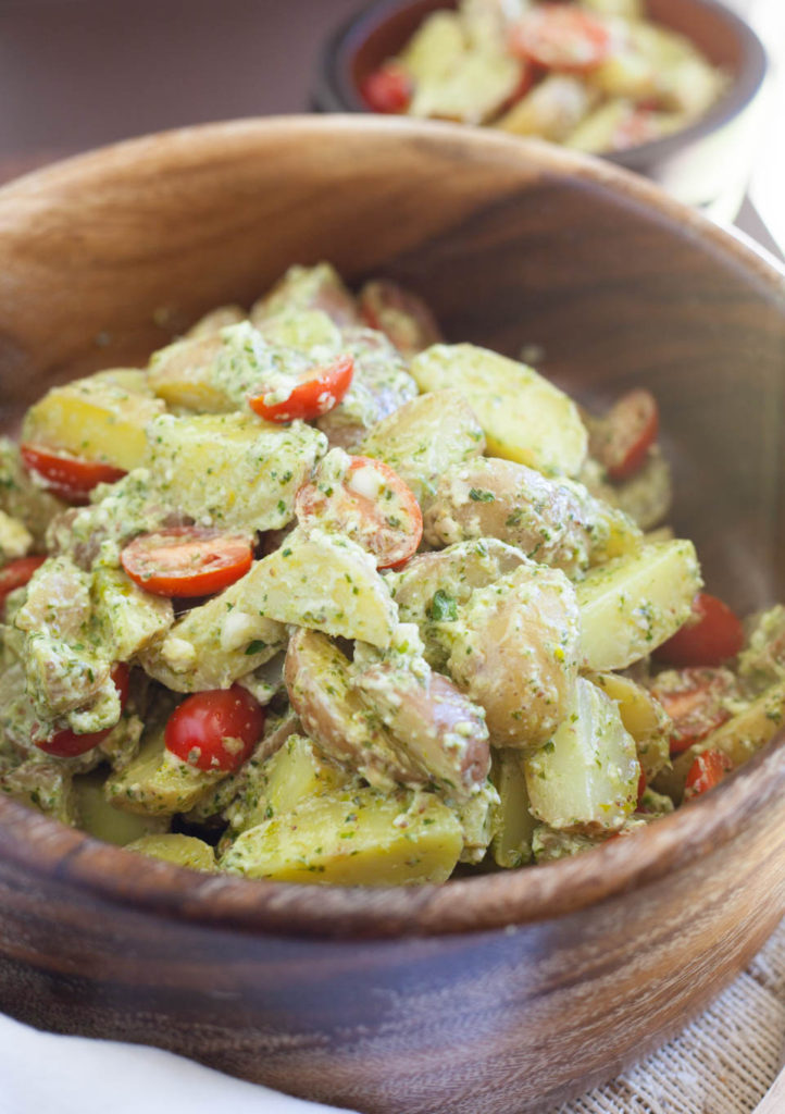 Herby Olive Oil Potato Salad